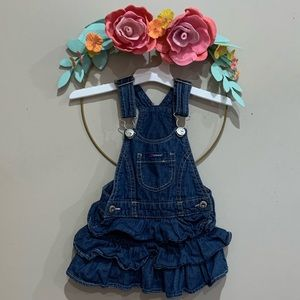 Other - Denim overalls skirt